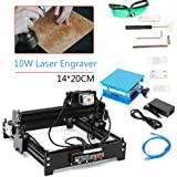 Desktop 10W 1420 Laser Machine CNC Router Engraver Engraving Control DIY CNC Machine Wood Router Laser Engraving