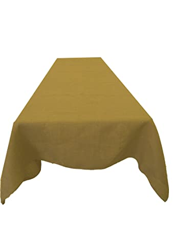Natural Burlap tablecloth Made in the USA Exclusively by LA Linen