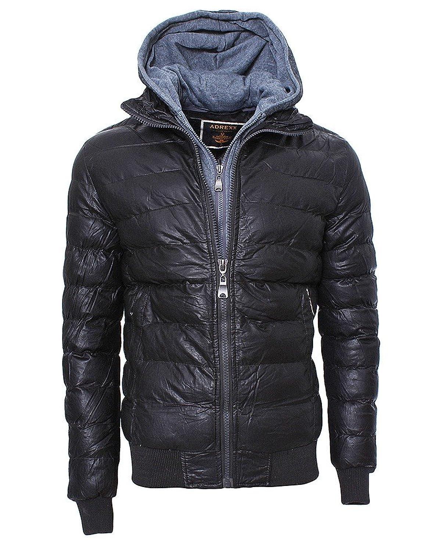 M246 Herren Winterjacke Herrenjacke Stepp Jacke Jacket Übergangsjacke Hoodie günstig online kaufen