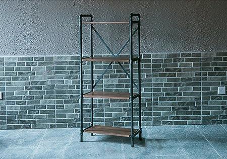 Book Jia librerie Scaffali a libro scaffale a scomparsa Scaffali a vento industriale Retro tetti in ferro Ripiani in mensole Ripiani in scaffali