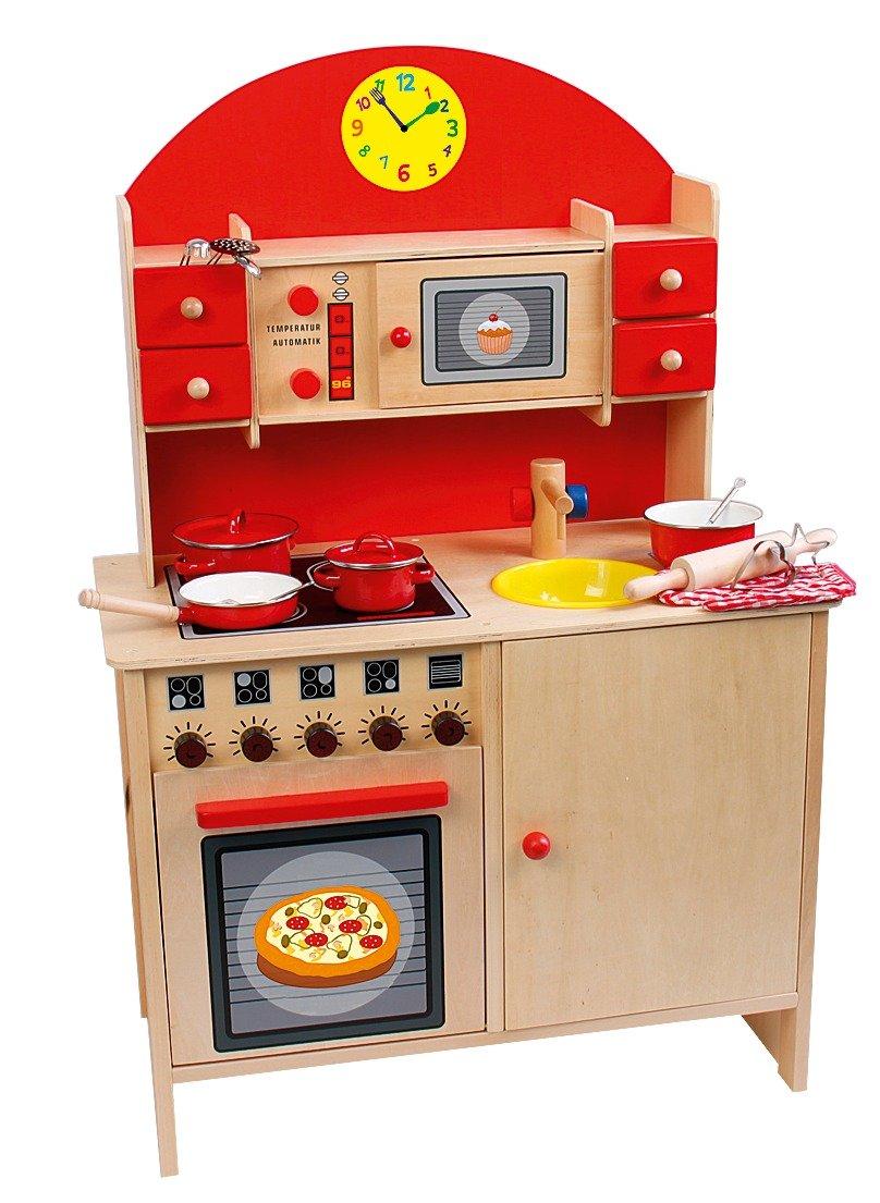 Kuchnia dla dzieci drewniana allegro for Planos cocina de juguete