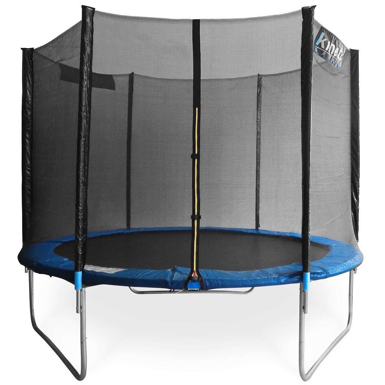 Kinetic Sports Gartentrampolin inkl. Sicherheitsnetz 183 bis 490cm Größenauswahl – Intertek GS zertifiziert bestellen