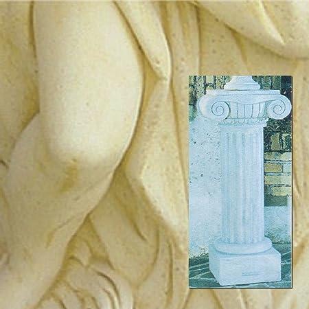 Colonne de jardin Delphes cm36x 36x 110h dans les différents couleurs antichizzata