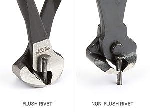 TEKTON 8-Inch End Cutting Pliers | PCT10008