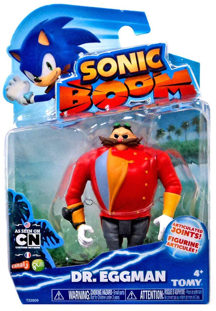 Sonic Boom 4 Dr. Eggman Mini Figure sonic boom