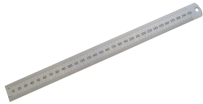 12 METAL RULER STEEL RULERS 300mm DUAL MARKINGS CONVERSION CHART NEW | eBay