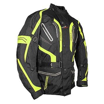 Roleff Racewear 5174 Blouson de Moto Lima Jaune