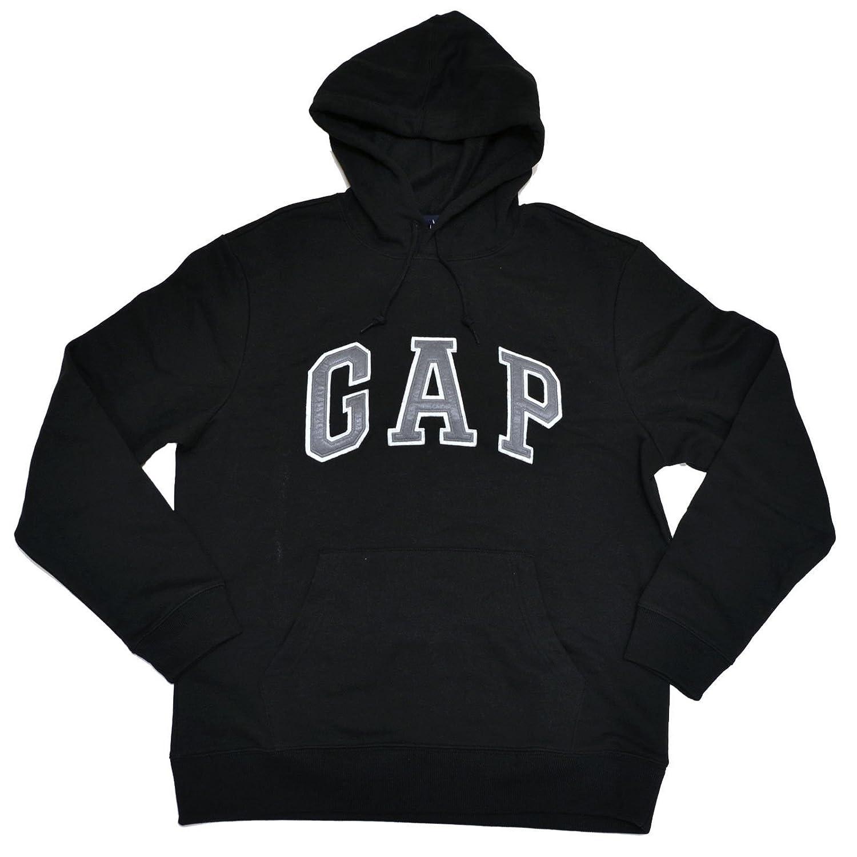 GAP Mens Fleece Arch Logo Pullover Hoodie