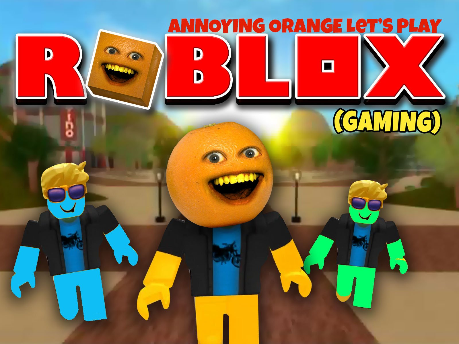 Clip: Annoying Orange Let's Play - Roblox! on Amazon Prime Video UK