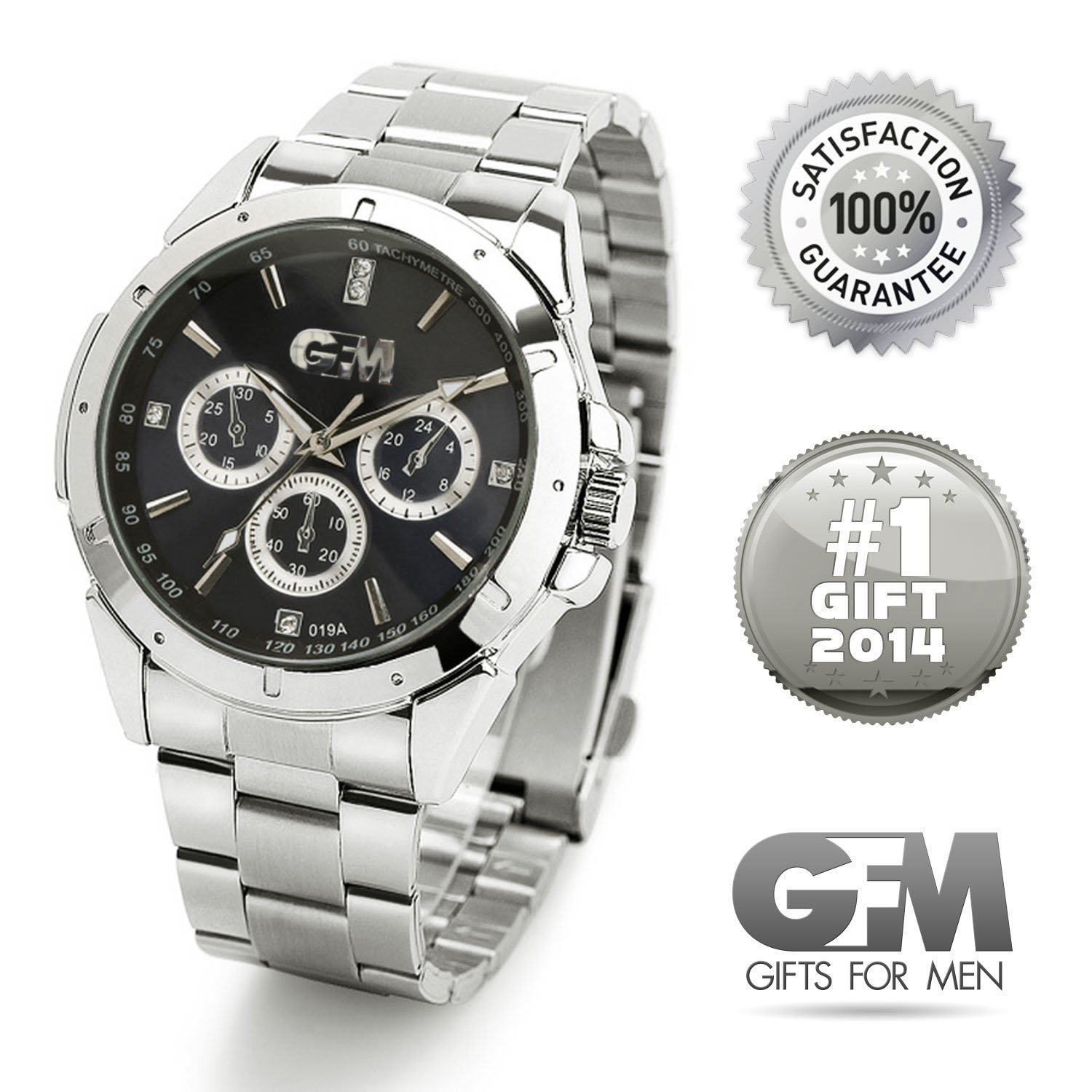 ★ Gifts for Men: Ultimate Designer Sports Watch (Great for Birthday, Anniversary, and Christmas) ★ ON SALE ★ Best Value ★ Perfect and Top Unique Gift for Your Dad, Husband, Father, Son, Papa, Brother, or Friend – 100% Satisfaction Guaranteed or Your Money Back