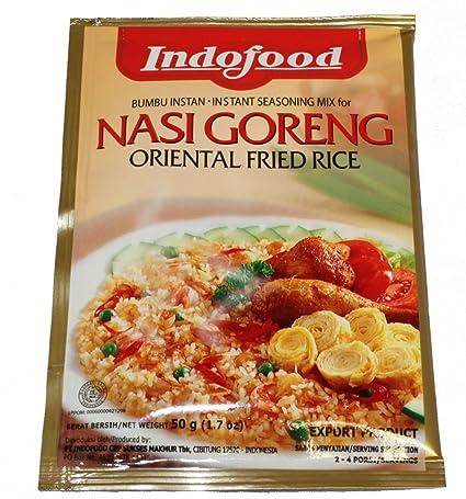 Seasoned Instant Rice Indofood Instant Seasoning