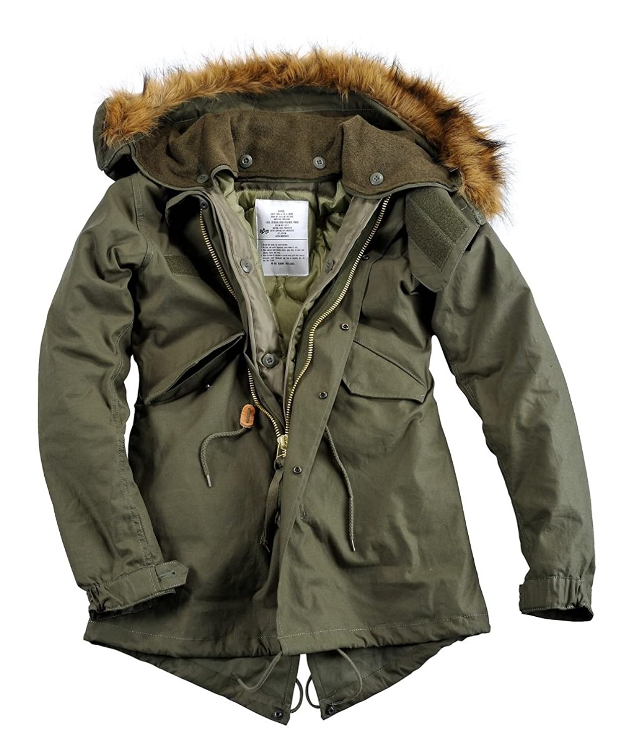 Alpha Inustries Vintage Fishtail Women Parka Frauen Parka 60509