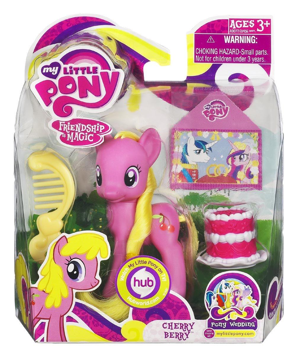 My Little Pony – A0077 – FRiENDSHiP iS MAGiC – Cherry Berry – ca. 8 cm – mit Kamm und Torte online kaufen