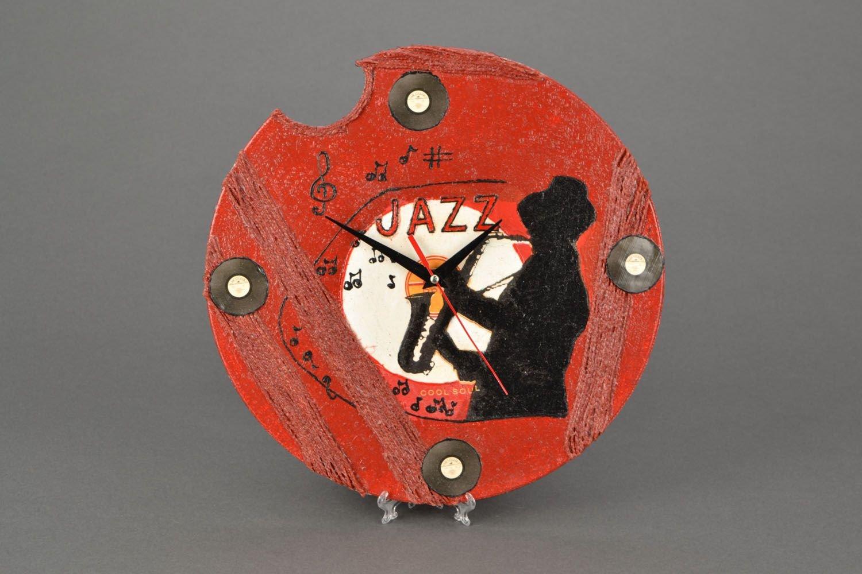 """Originelle Wand Uhr """"Jazz"""" bestellen"""