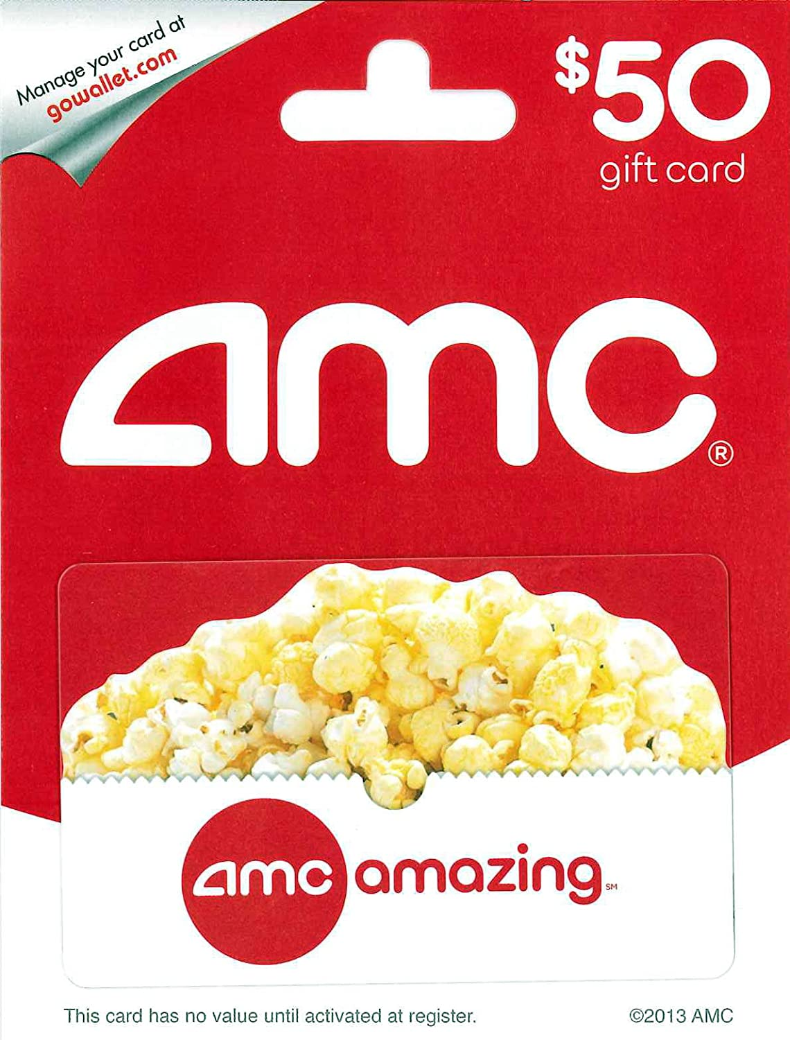 Buy Gift Cards. Corporate Orders. Download the App. Give the Gift of Movie Magic. Share a movie moment with someone, give them an AMC Gift Card this holiday season. Buy Now. Send Gifts Quick. E-Cards. Don't miss a big day ever again. Have AMC eGift cards instantly delivered to any inbox and don't worry about shipping and handling fees.