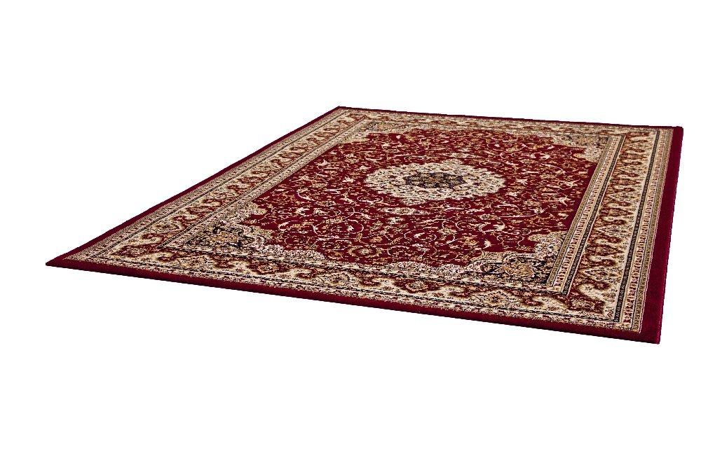 """TEPPICHWELT TEPPICHWELT SONA-LUX klassischer Teppich rot """"Größe auswählen"""" 200 x 290 cm"""