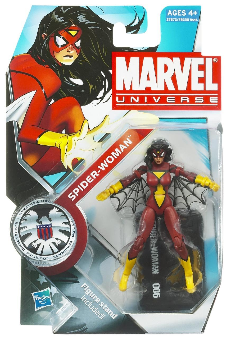 Marvel Universe 3 3/4″ Actionfigur Spider-Woman #006 – Serie 3 als Weihnachtsgeschenk