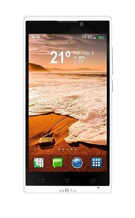 Woxter Zielo Z420 Smartphone débloqué (5 pouces - 16 Go) Blanc (import Espagne)
