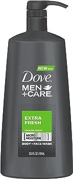 Dove Men+Care Body Wash, Extra Fresh