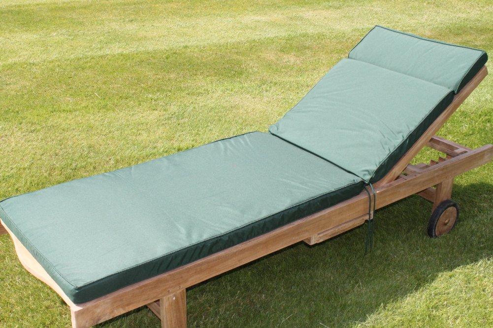 Gartenmöbel-Auflage - Auflage für Gartenliegestuhl in Grün