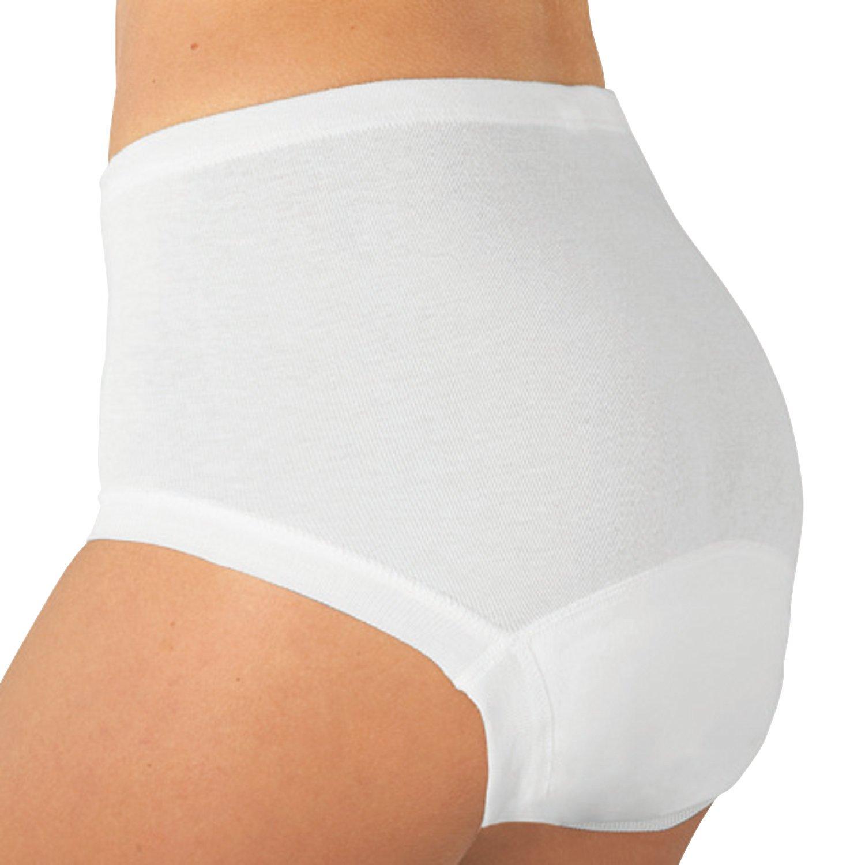 Con-ta Damen Hygiene-Taillenslip im 2er-Pack Feinripp jetzt kaufen
