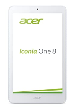 Acer Iconia ONE 8 B1-830 bleue