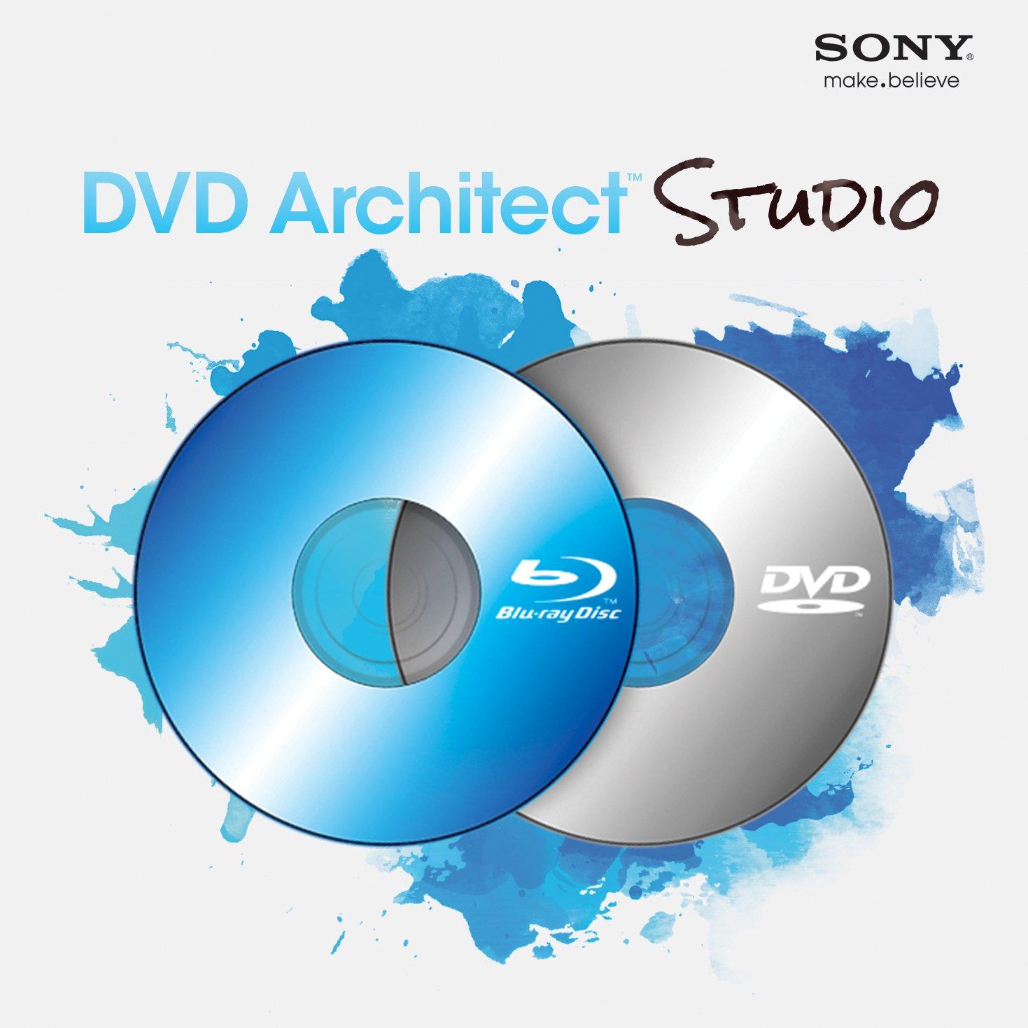 Sony DVD Architect Studio 5.0- 30 Day Free Trial (Download)