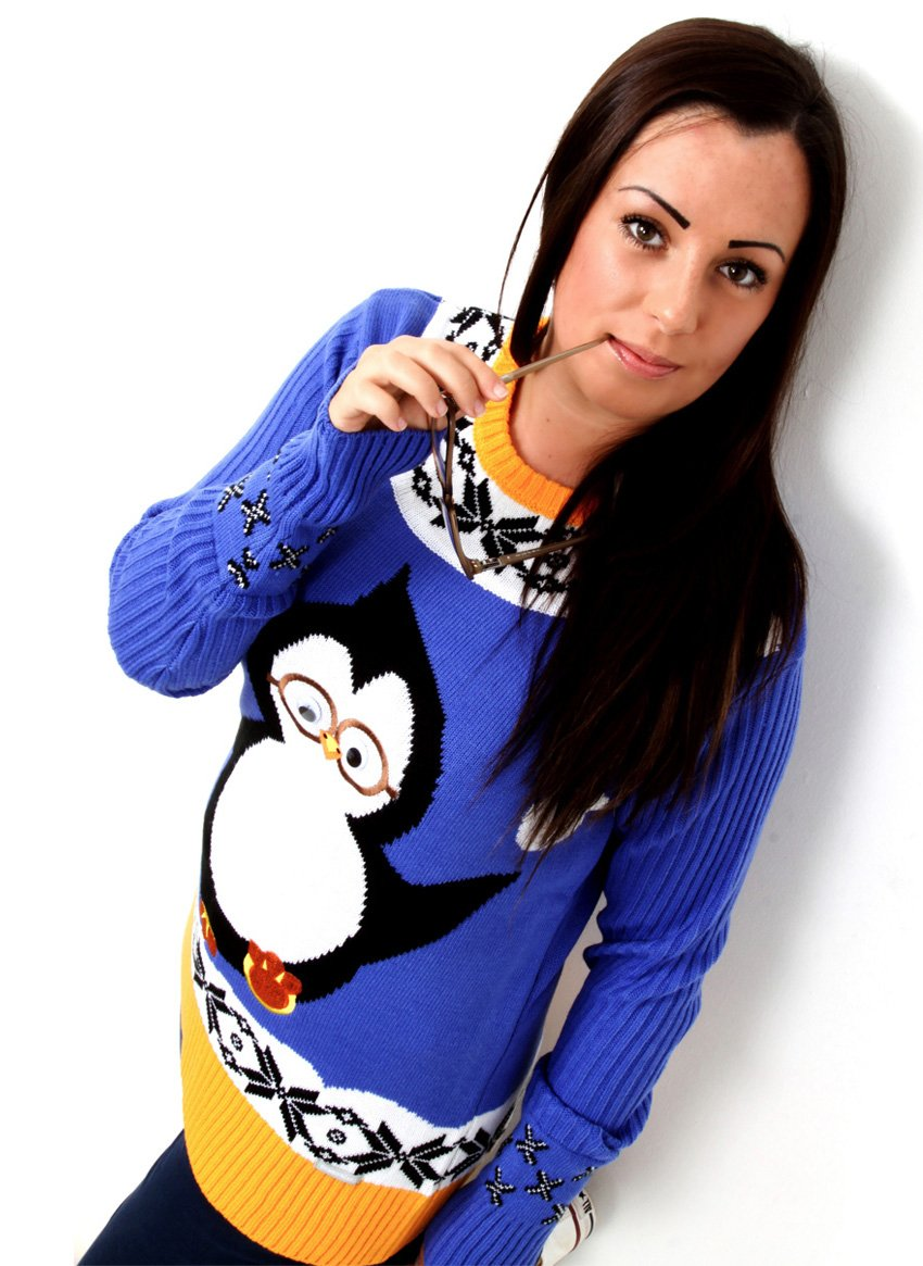 Limited Edition Penguin Christmas Jumper