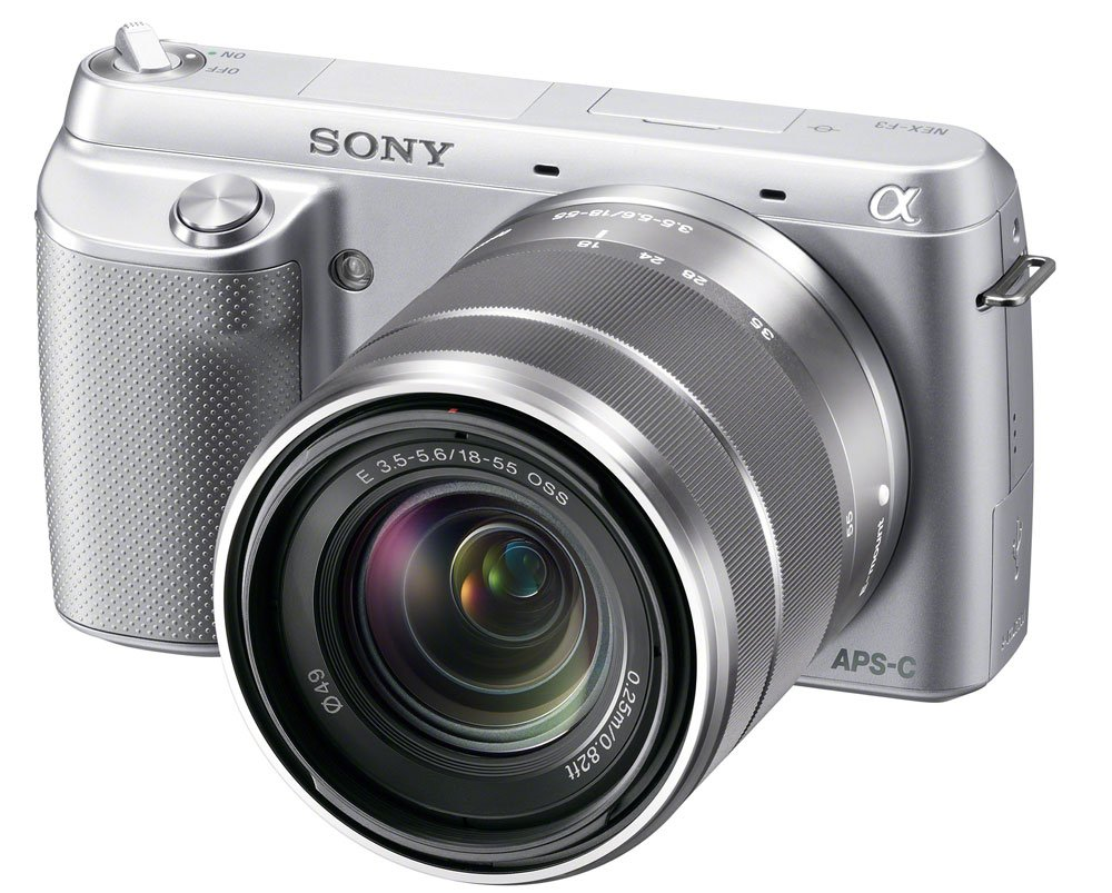 Sony NEX-F3K/S 16.1 MP Compact System Camera with 18-55mm Lens ($369.00)