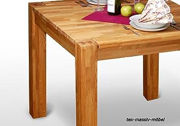 esstisch german1 tisch 200x90 eiche massiv ge lt fu 80x80 mm dc270. Black Bedroom Furniture Sets. Home Design Ideas