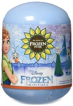 Disney Frozen - A1502679 - Capsule (oeuf) 'Reine Des Neiges' avec 1 figurine aléatoire
