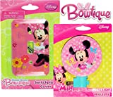 Disney Night Light and Switch Plate Cover Set (Minnie Mouse)