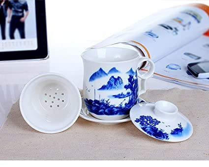 Ceramic Tea Cup With Lid Ceramic Tea Cup/ Mug/