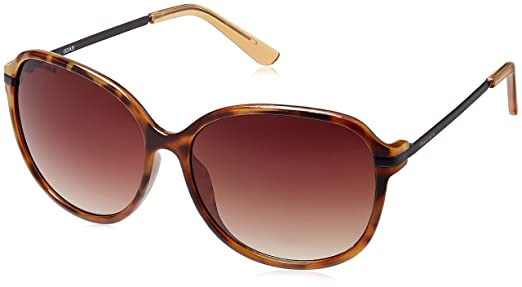 oversized sunglasses  Fastrack Oversized Sunglasses (Brown) (P257BR2F): Amazon.in ...