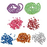 Flameer Bird Rings Leg Bands for Pigeon Parrot Canary Hatch Poultry Foot Band -700pcs Pack (Color: as described, Tamaño: as described)