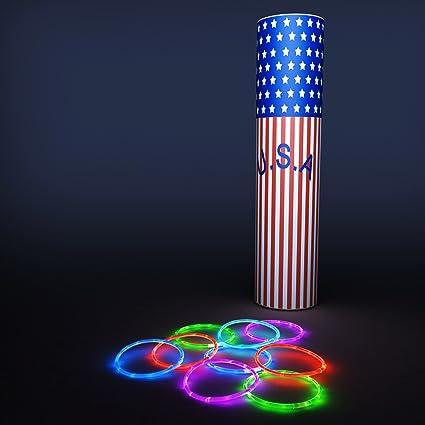 Super Bright Longest Lasting Glow Stick Bracelets - 100 Premium Quality Glow Stick Bracelets