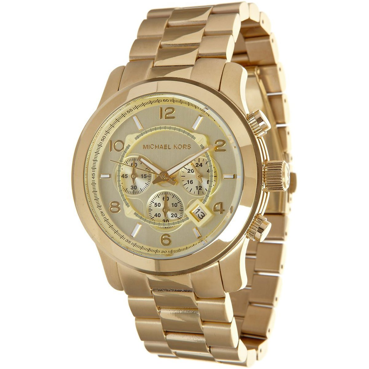 michael kors mk8077 gold tone s mumer watches