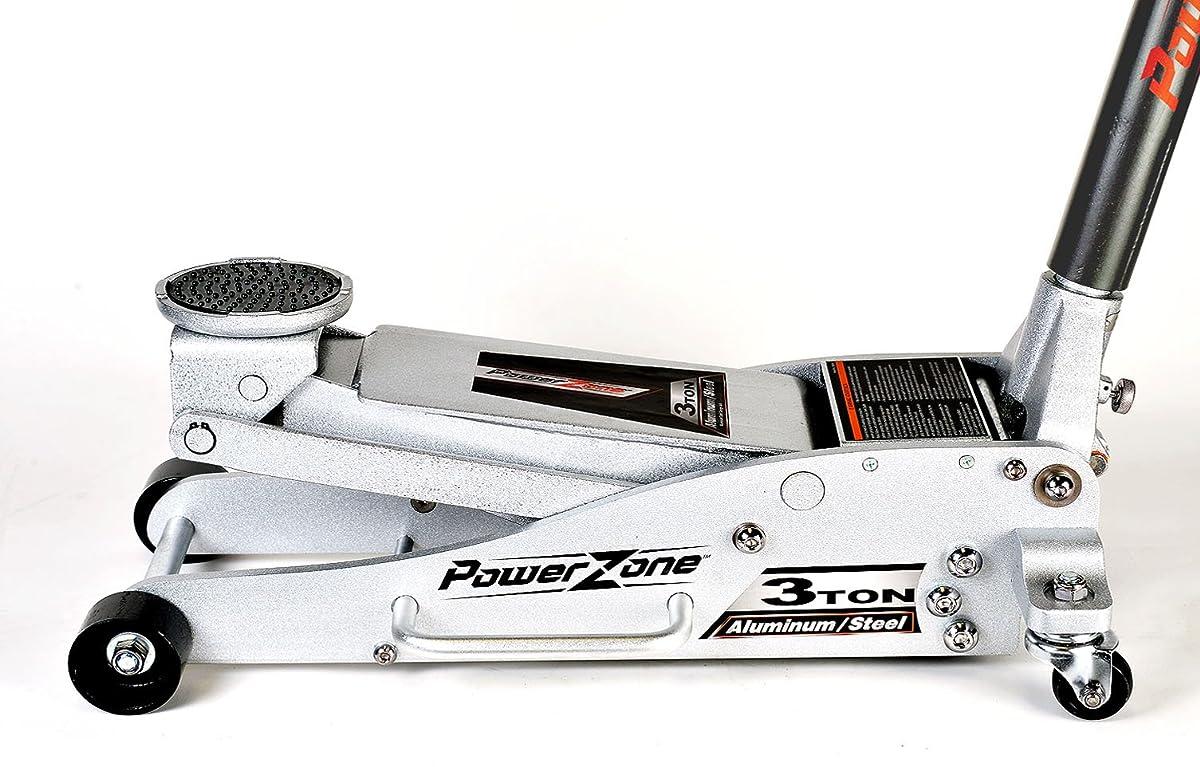 Powerzone 380044 3 Ton Aluminum and Steel Garage Jack