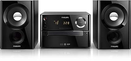 Philips BTM1180/12 Micro-chaîne Bluetooth CD/CD-R/CD-RW/MP3/Tuner FM numérique 20 W RMS Noir