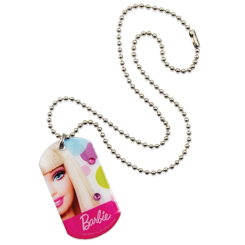 Amscan 160557 Barbie Puppe d Up All Dog Tag Halskette als Weihnachtsgeschenk