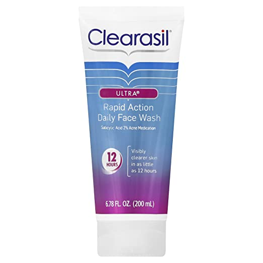 Clearasil Ultra Acne Treatment Daily Face Wash
