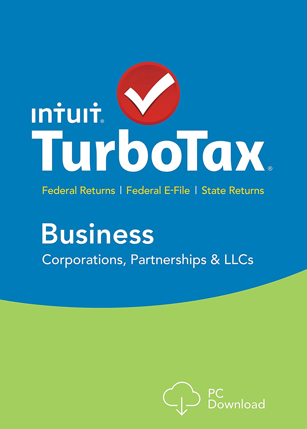 TurboTax Business 2015 Federal + Fed Efile Tax Preparation Software - PC Download