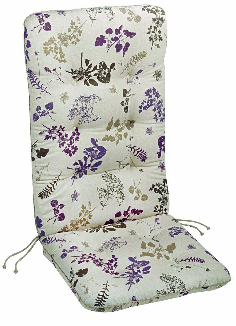 Best 05201151 Sesselauflage hoch 120 x 50 x 9 cm, Dessin 1151
