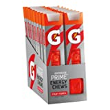 Gatorade Prime Energy Chews, Fruit Punch (Pack of 16) (Tamaño: 16 Ounce)