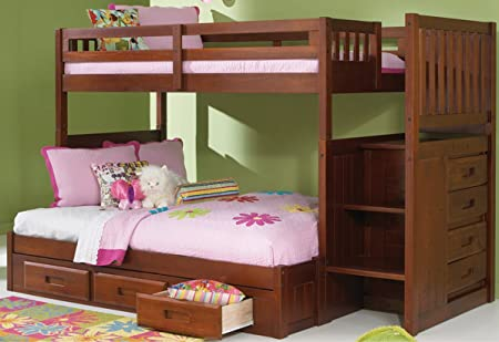 Trundle Bed With Desk And Drawers Bed With Trundle Desk