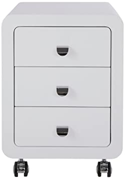 Kare White Club Storage Container 3-Drawers
