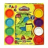 Play-Doh Numbers Letters N Fun Art Multi Kids Toddler Games Play Set Playdough (packaging may vary)