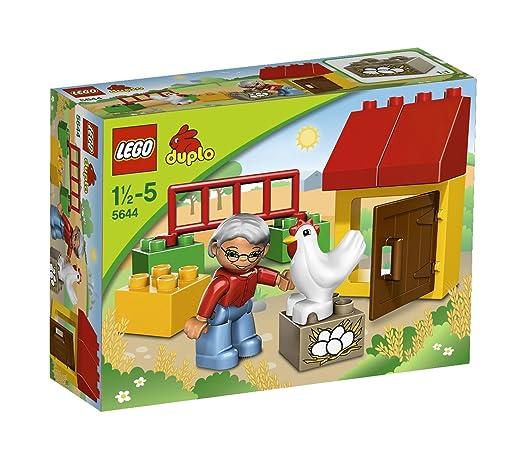 LEGO - 5644 - Jeu de Construction - DUPLO LEGOVille - Le Poulailler