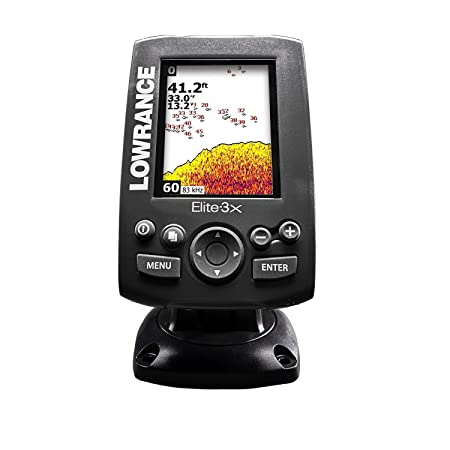 Echo-sondeur000-11448-001 Lowrance Elite-3x Fischfinder