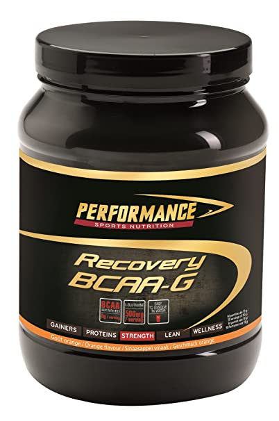 Performance Sports Nutrition Recovery BCAA mit Glutamin , 1er Pack (1 x 500 g)